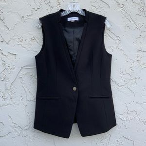 Calvin Klein Black Vest Size 10